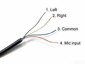 Earphone Wiring Diagram Diagrams Best In Headphone  With