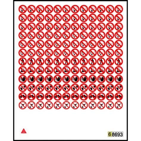planche bureau mini pictogrammes interdiction stocksignes