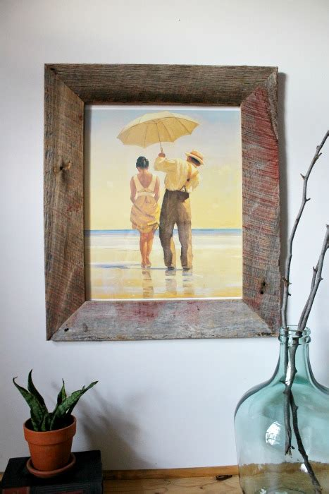 How To Make Barn Wood by Diy Barn Wood Picture Frame Pretty Handy