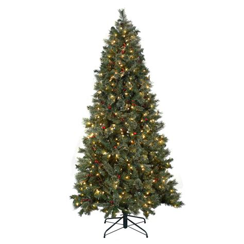 7 5 pre lit christmas tree astella 7 5 green artificial christmas tree with 500 5899