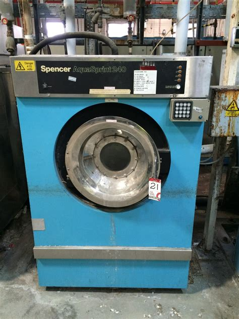 spencer aquasprint  programmable commercial washing