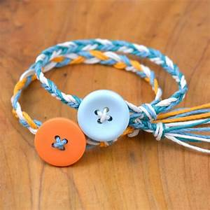 Ultra-Easy Friendship Bracelets - Happy Hour Projects