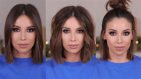 ways to style your hair 3 easy ways to style hair 6773