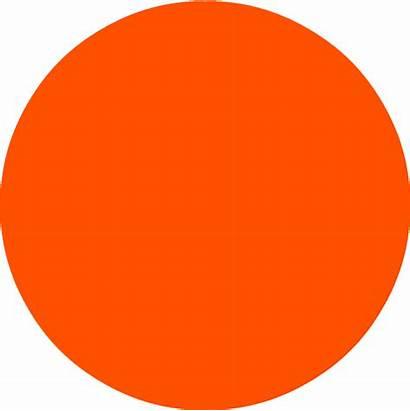 Circle Orange Transparent Background