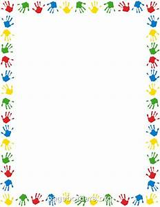 Hand Print Border Pictures to Pin on Pinterest - PinsDaddy