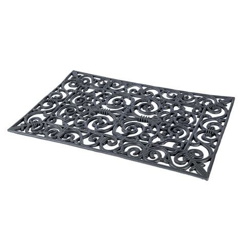 Large Outdoor Doormats by Coir Rubber Door Mat Indoor Outdoor Use Large Wrought Iron
