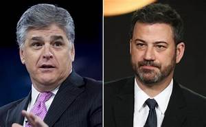 Jimmy Kimmel can't hide glee at Sean Hannity-Michael Cohen ...