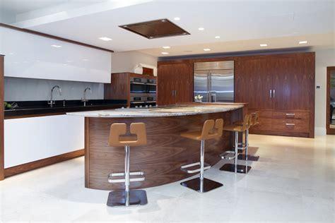 interior design of kitchen walnut gloss white kitchen prestbury cheshire