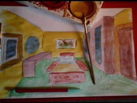 comment dessiner sur un mur de chambre dessiner en perspective 16 20 une chambre en 3d pas à