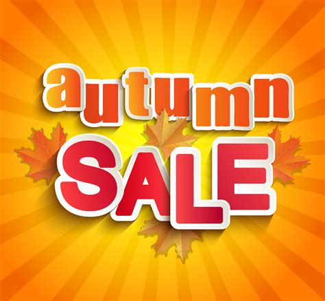 Autumn sale lettering with leaves. 335941 Vector Art at Vecteezy