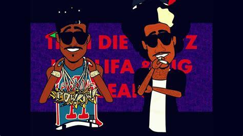 Till I Die Big Sean And Wiz Khalifa Cartoon