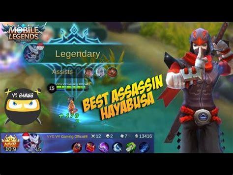 hayabusa  overpowered  assassin hero