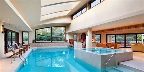 Indoor Pools In Mansions-houses With Indoor Pools