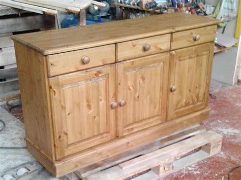 Pine Sideboard by Solid Pine Sideboard