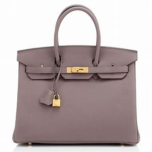 Hermes Birkin Bag 35cm Etain Togo Gold Hardware | World's Best  Hermes