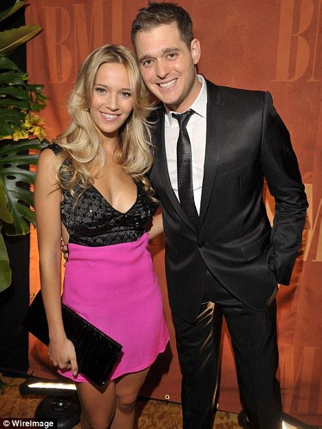 Michael Buble says his fiancée banned him from singing at ...