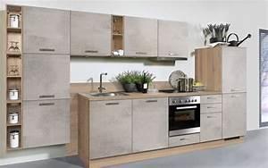 Möbel Hardeck Küchen Prospekt : einbauk che beton in betonoptik matt hell online bei hardeck kaufen ~ Indierocktalk.com Haus und Dekorationen