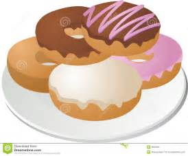 Coffee and Donuts Clip Art Free