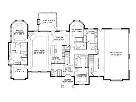 goodness  love  floorplan empty nest house plans dhsw architecture