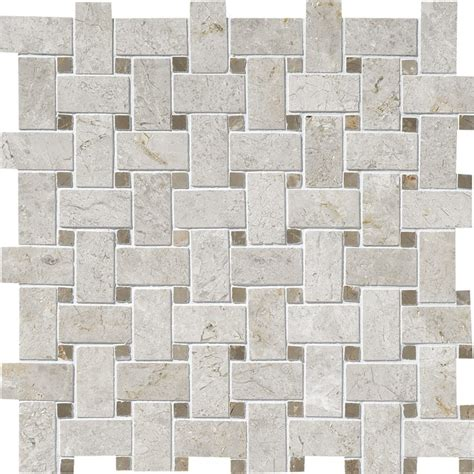 basket weave marble silver clouds tobacco polished basket weave marble mosaics 12x12 marble system inc