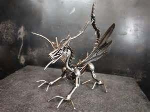 Scrap Metal Art Dragon
