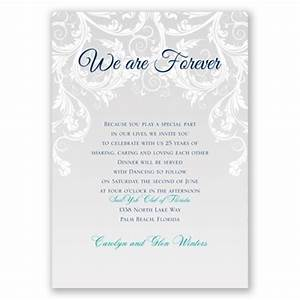 wedding invitation wording wedding invitation wording vow With examples of wedding renewal invitations