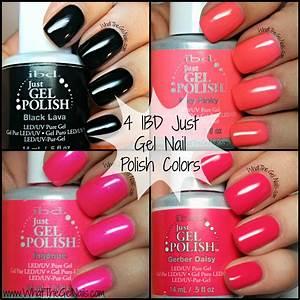 4 Ibd Just Gel Nail Polish Colors