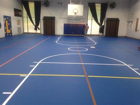 sport court tiles multipurpose sport floor installation with herculan