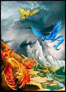 legendary birds 2 - Legendary Pokemon Fan Art (31481920 ...