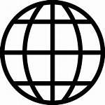 Global Earth Icon Globe Icons Internet Vector