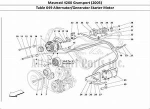 Buy Original Maserati 4200 Gransport  2005  049 Alternator