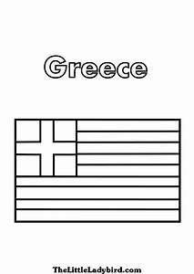 Greek flag coloring page az coloring pages for Greek flag template