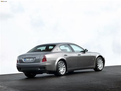 Maserati Quattroporte 2004 by Maserati Quattroporte V 2004 08 Pictures 2048x1536