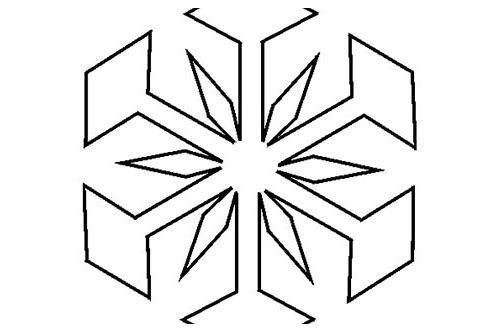 download free snowflake patterns