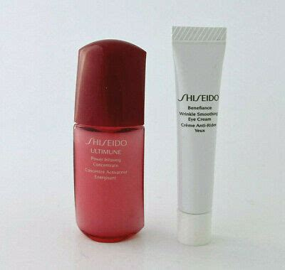 SHISEIDO DUO ULTIMUNE POWER CONCENTRATE & BENEFIANCE