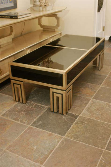 hidden compartment coffee table mirrored coffee table with secret compartment by james