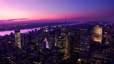 Twilight In New York City Wallpapers