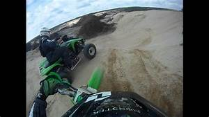 Me On My Kx500 And My Friends On A Typical Dirt Bike Trail