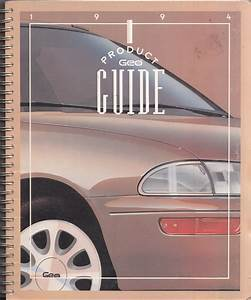 1994 Geo Prizm Repair Shop Manual Original 2 Volume Set