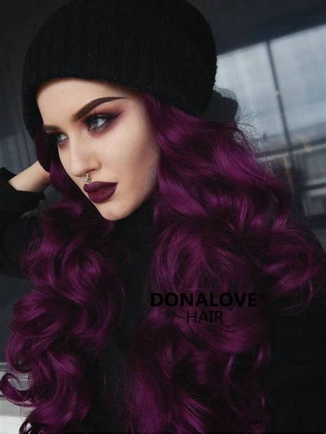 Best 25 Dark Purple Hair Ideas On Pinterest Violet Hair