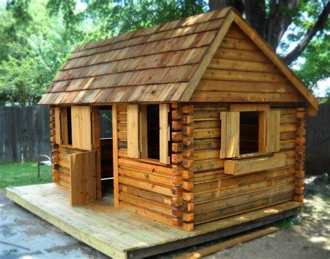 Backyard Log Cabin log cabin in a backyard in wichita ks made from recycled