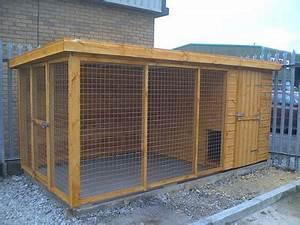 Avez vous deja construit un chenil comportement du chien for How to build a dog kennel out of wood