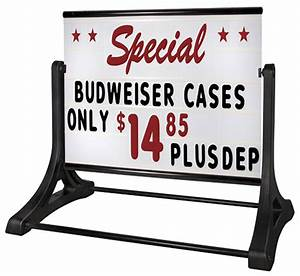 48 x 36 sign board outdoor sign with letter kit With outdoor reader board letters
