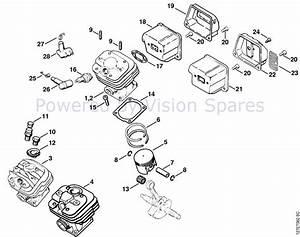 31 Stihl 024 Av Parts Diagram
