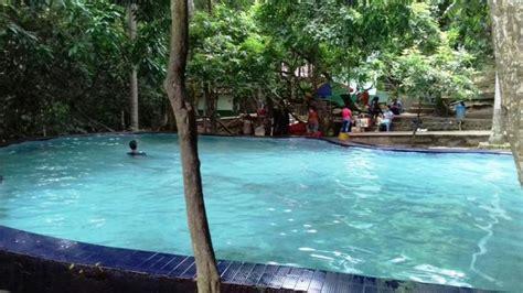 pemandian air panas lejja objek wisata favorit