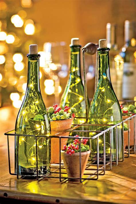 wine bottle led lights bottle lights led christmas lights and wine bottles on
