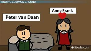 Anne Frank & Peter: Relationship, Compare & Contrast ...