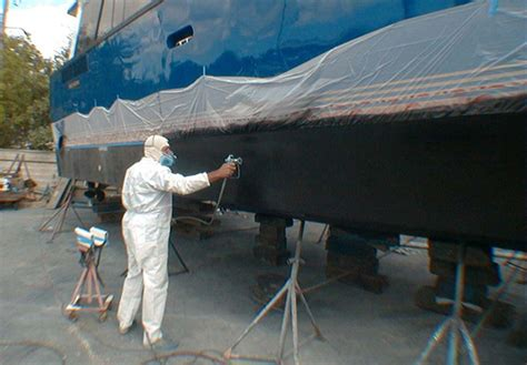 Fort Myers Boating Forecast by Proper Way To Paint A Boat Bottom Go Boating Florida
