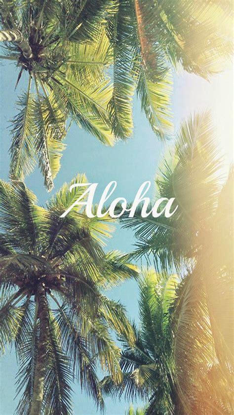 Aloha Palm Trees iPhone 6 Plus HD Wallpaper HD Free