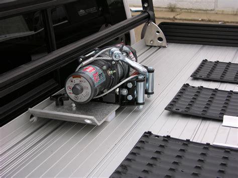 Sled Deck R Build by Truckboss Winch Plate